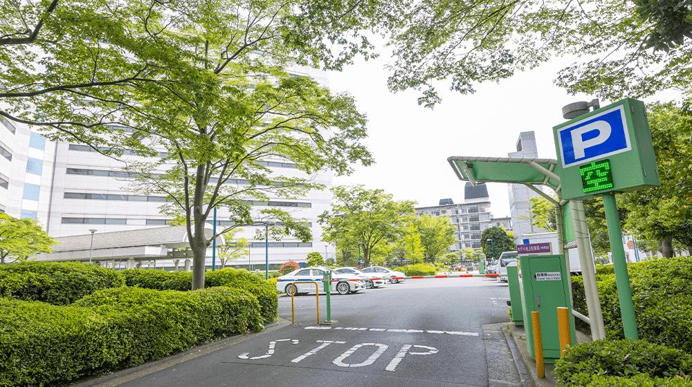 駐車場が滞在中無料