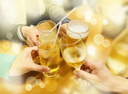 ノンアルコールで乾杯!